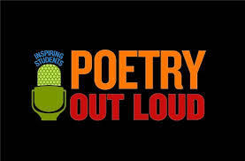 Poetry Out Loud -UPDATE! Winners Listed Below