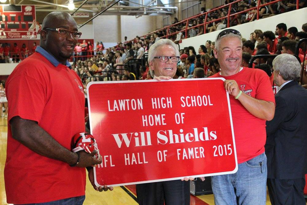 Will Shields visits Lawton