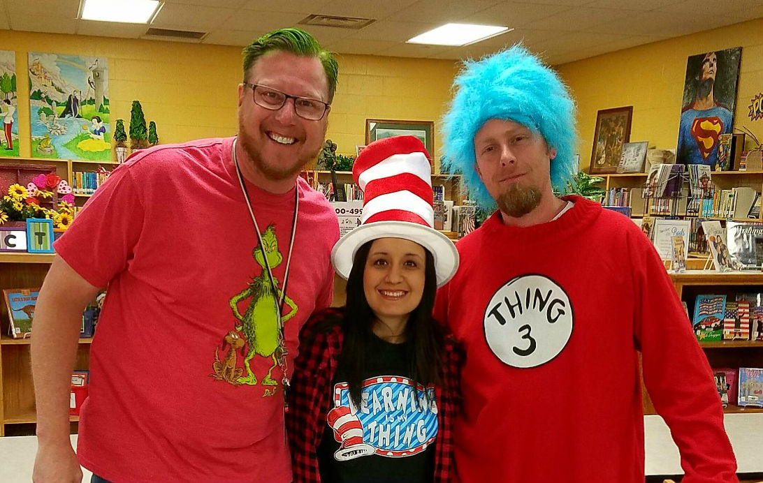 Ridgecrest celebrates Dr. Seuss during Read Across America
