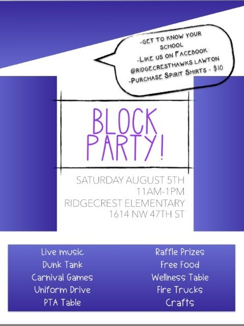 Back 2 School Block Party
